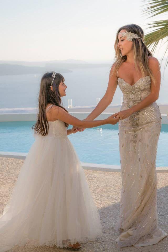 2 brides dancing