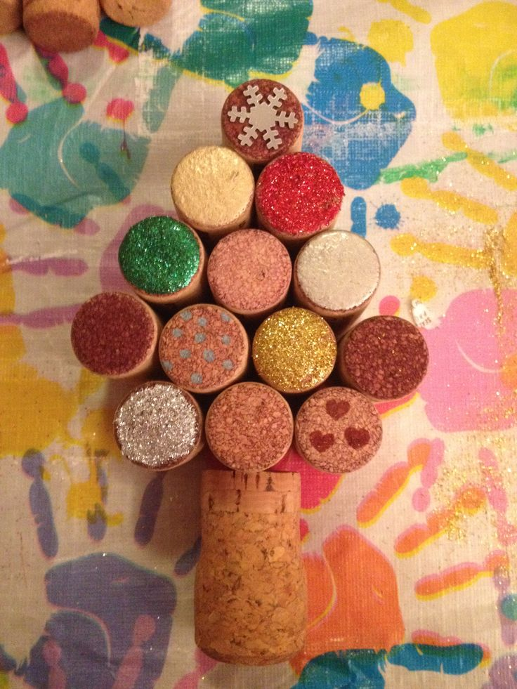 Kerstboom kurk