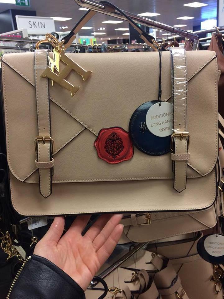 Ladies Primark Harry Potter Beige Letter Satchel Bag Shoulder Women 039 S Bag New Mochila De Harry Potter Bolso Bolsos Cartera