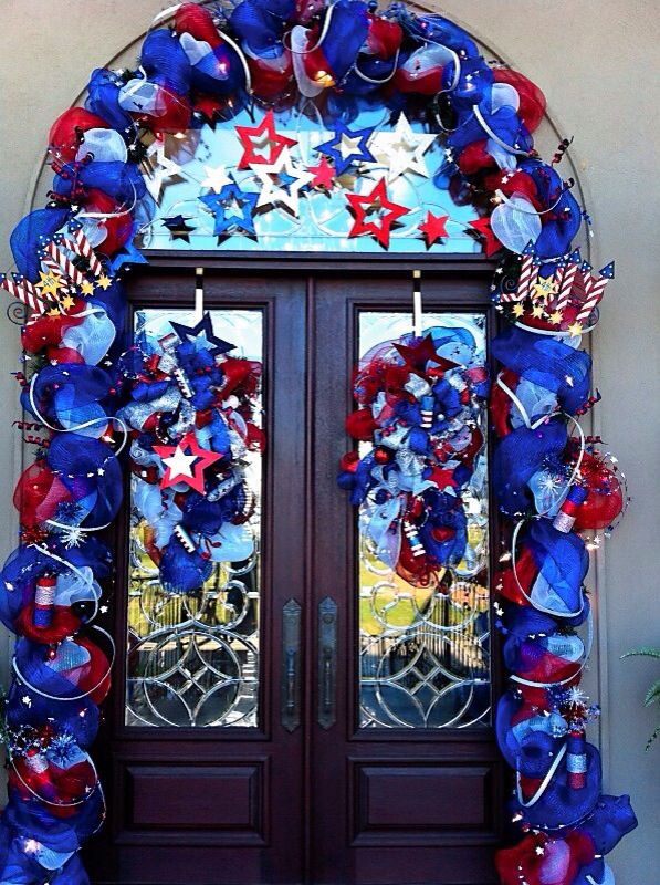 Fourth of July Front Door