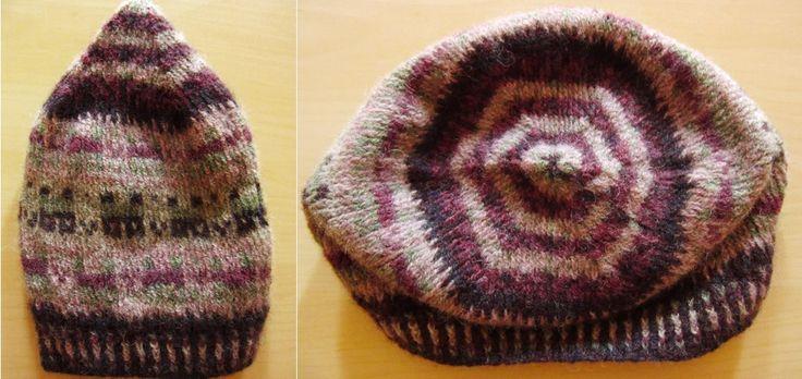 Crofthoose Hat Design by Ella Gordon Shetland Wool Week