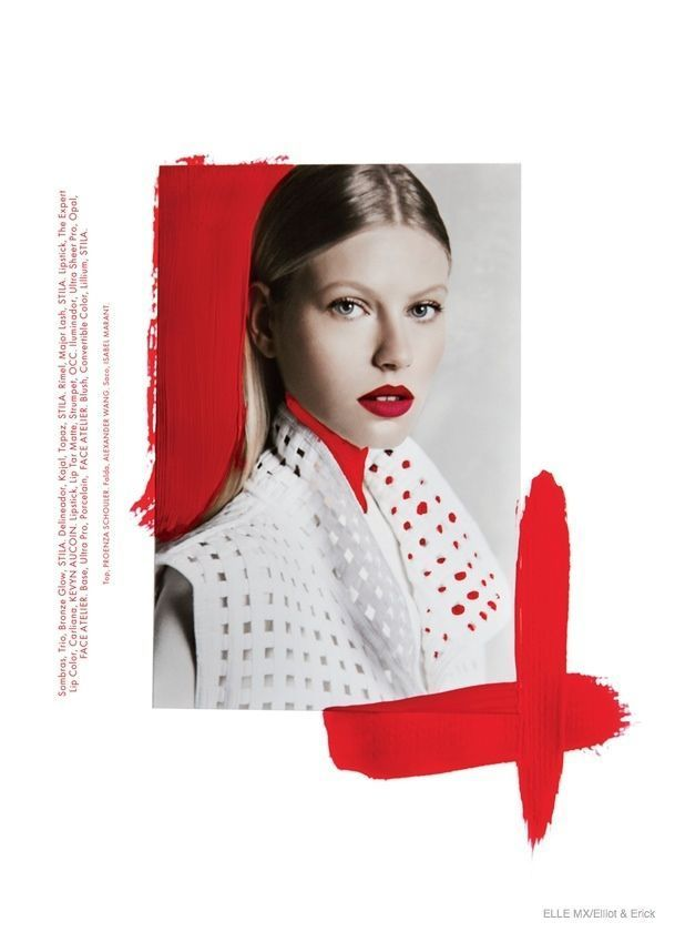 Artsy Fashion: Lisette + Natalie for Elle Mexico b…