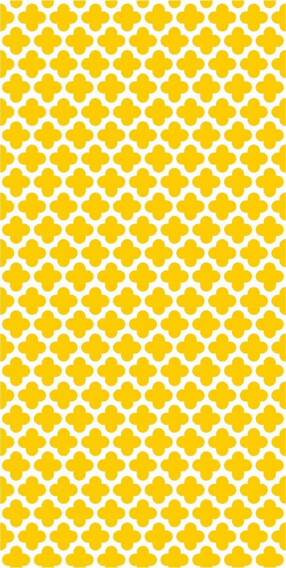 Vinyl Wallpaper Self Adhesive Yellow Eden Vinyl Wallpaper Trendy Wallpaper Yellow Wallpaper