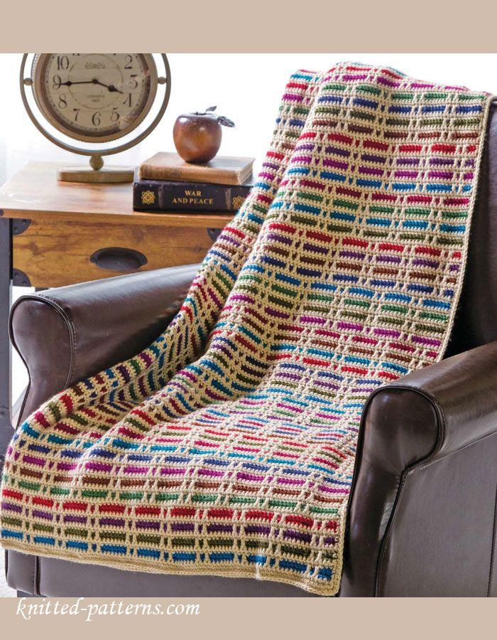 304 best Crochet Afghans images on Pinterest | Crochet blankets ...