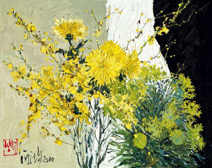 PANG Jiun, The Charm of Yellow Flowers @ Ravenel Autumn Auction 2011 Taipei, Lot 143