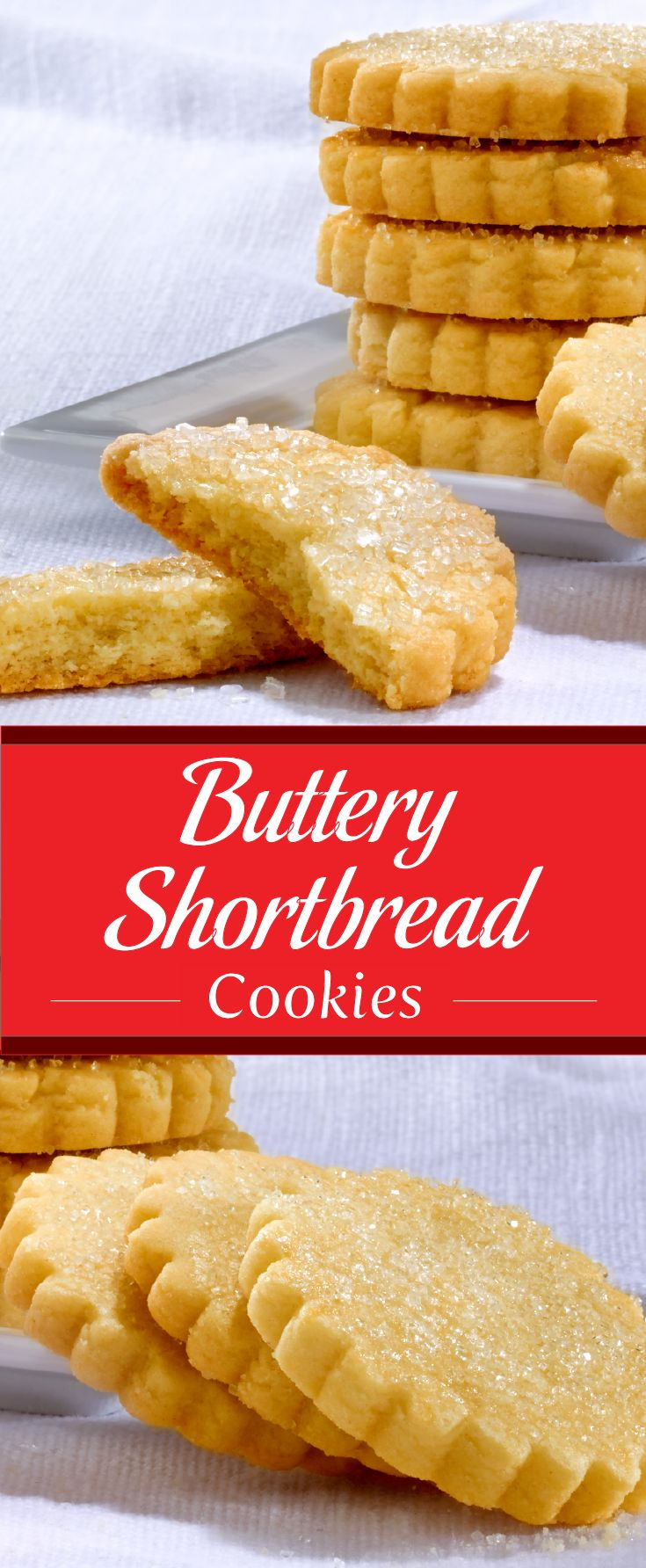 buttery shortbreads forward classic buttery shortbread cookies are the ...