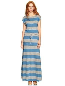 Short sleeve maxi dress gap under table