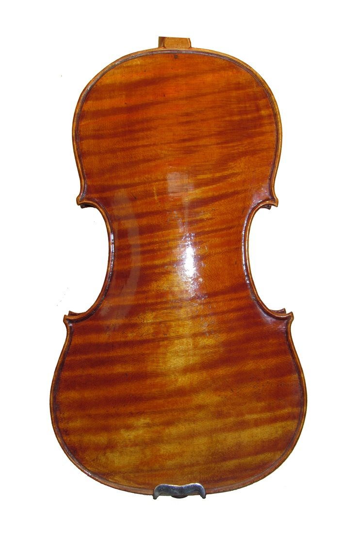 Old wood minerale interior of violin - Violin Grubaugh Seifert