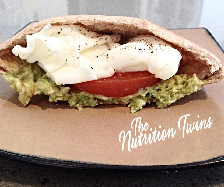 Avocado Egg Sandwich | Delish & ONLY 159 CALORIES | PROTEIN & FIBER 4 breakfast, lunch & Dinner! | Enjoy! :) | For MORE RECIPES please SIGN UP for our FREE NEWSLETTER www.NutritionTwins.com