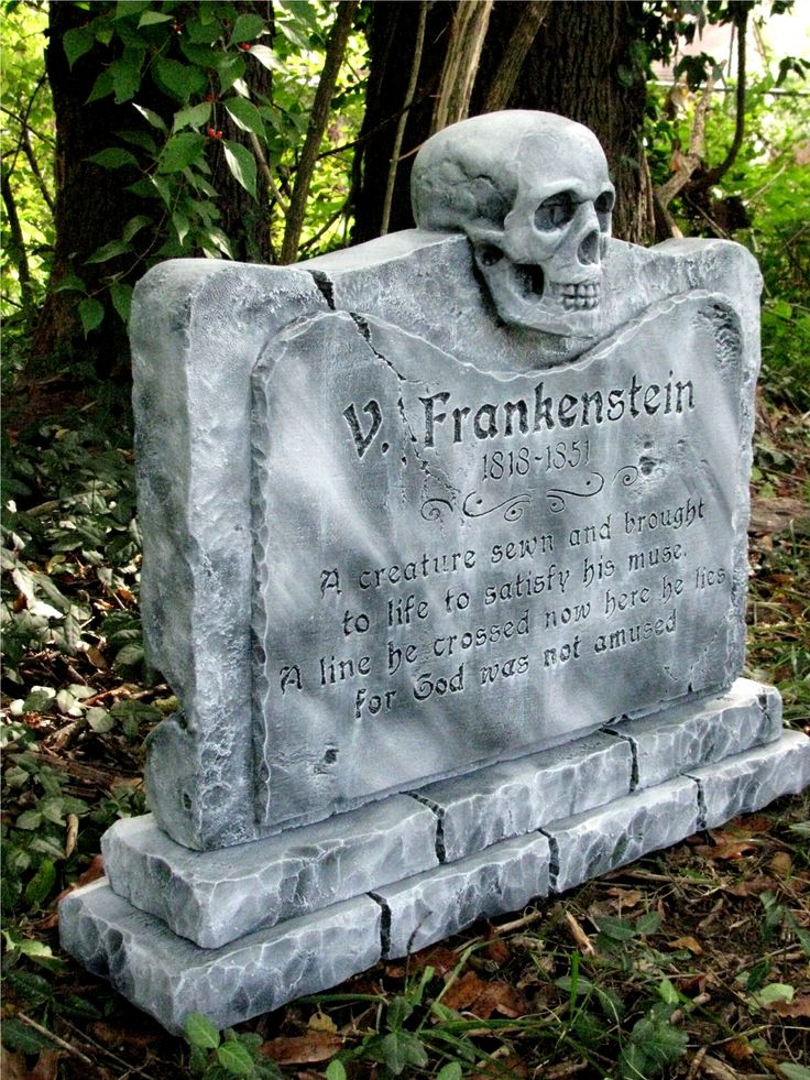 Tombstone Templates For Halloween