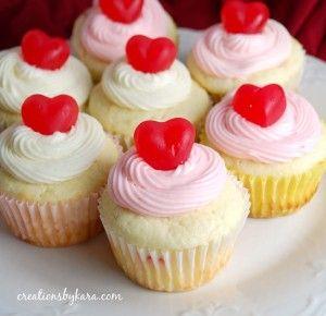 Cherry Cheesecake CupcakesValentine'S Day, Cream Cheese, Cheesecake Filling, Filling Cupcakes, Valentine Cupcakes, Food Recipe, Cherries Cheesecake, Cupcakes Rosa-Choqu, Cheesecake Cupcakes