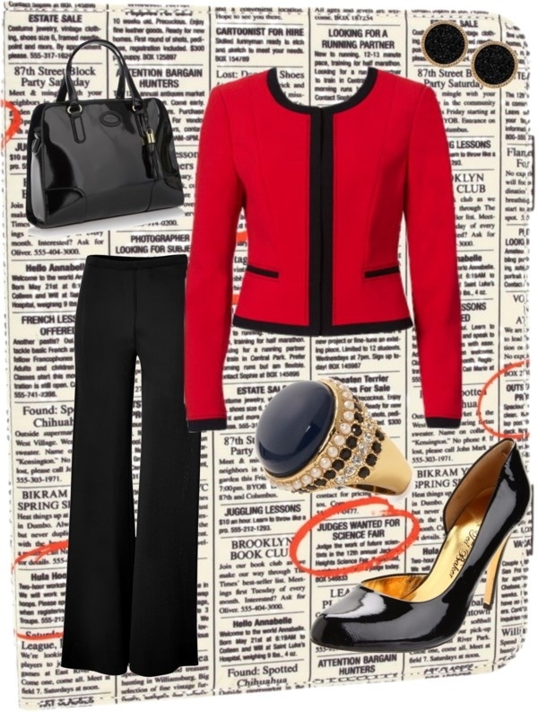 """""""Interview Outfit"""" by eyeloveit on Polyvore"""