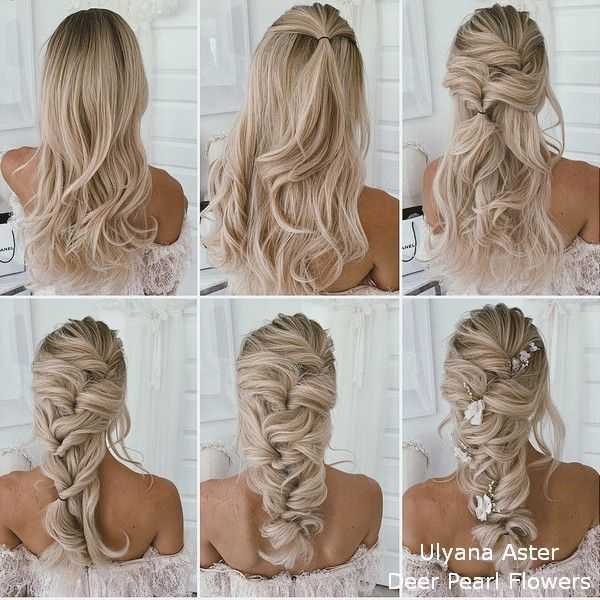 18 tutorials for wedding hairstyles for brides and bridesmaids