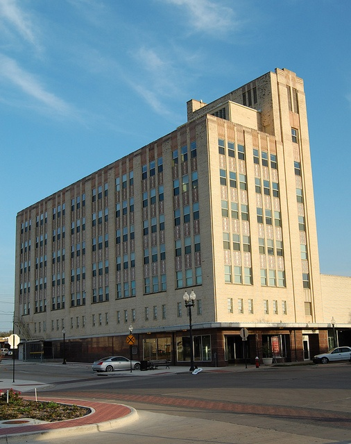 Varisco Building in Downtown Bryan. Art Deco Style Building