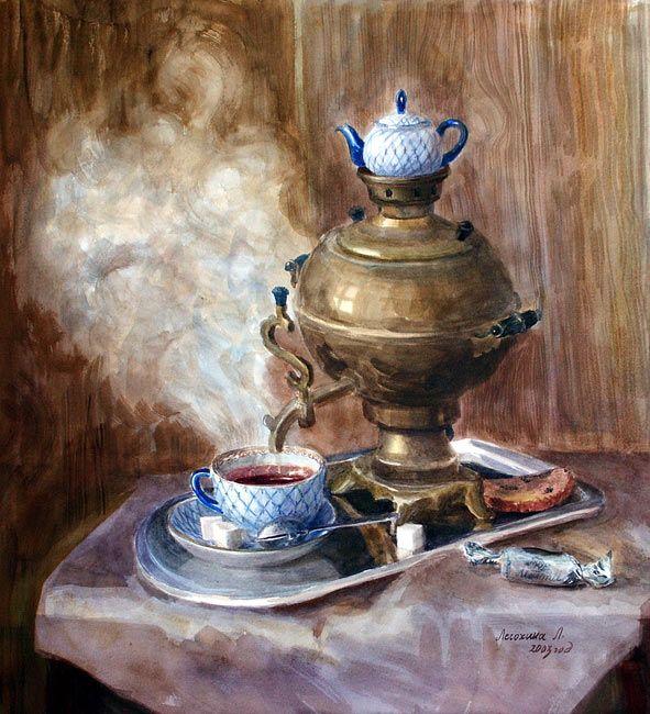Albina: Добрый день!!! 20 июня - День любимого чая... Или чаепития с любимым? :)