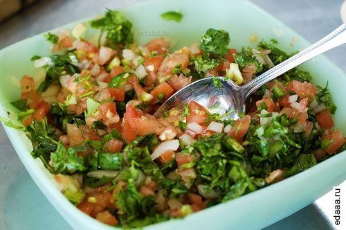 Пико де галло салат