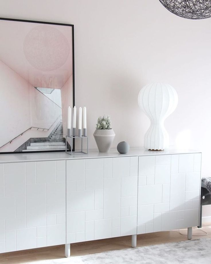 Ikea 'Bestå' cabinets with Superfront @catcooee