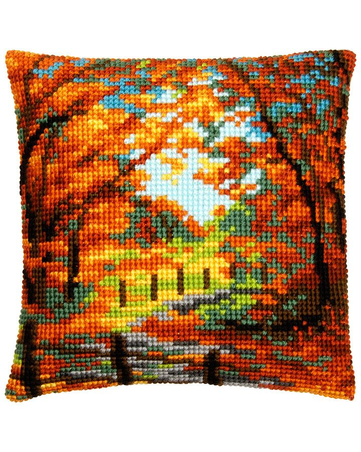 Ateljé Margaretha - Kudde Höstens färger