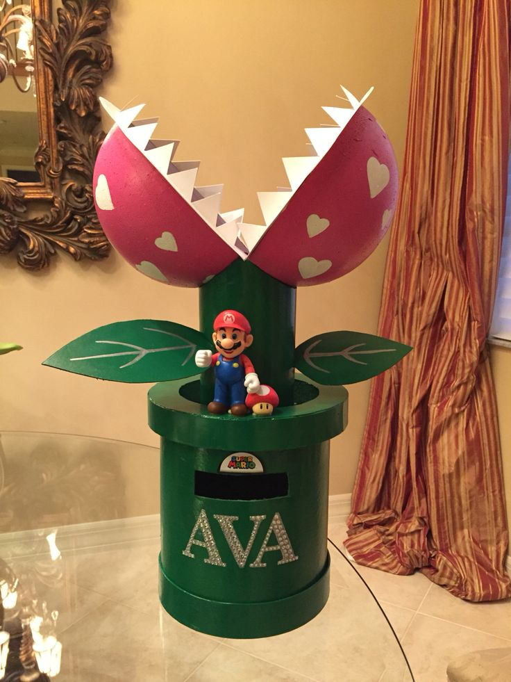 Valentine Box Mario Snapper Plant Made From 2 Circle