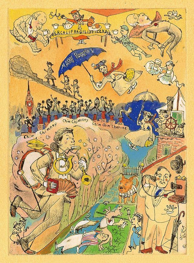 知的でユーモラスで洒脱な銅版画の世界 「山本容子 展 MUSICAL LESSON ―詩と音楽とともに―」 | 阪急阪神百貨店・ライフスタイルニュース