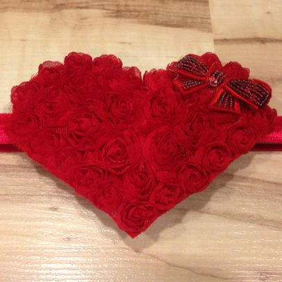 Large Whimsical Heart - Red