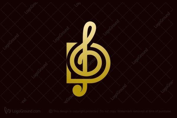 D Music Logo Music Logo Logos Abstract Logo