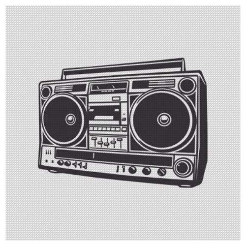 retro boombox illustration - Google Search | Passion Fruit ...