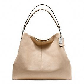 Coach :: Spring Looks Madison Leather Phoebe Shoulder Bag $398