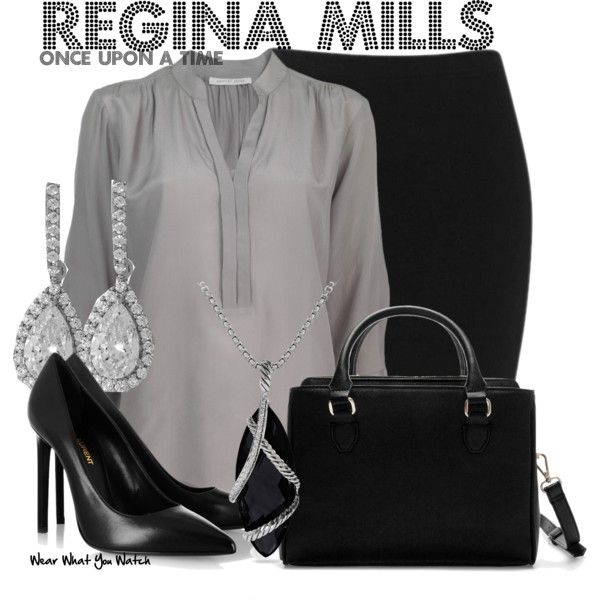 Inspired by Lana Parrilla as Regina Mills on Once Upon a Time.