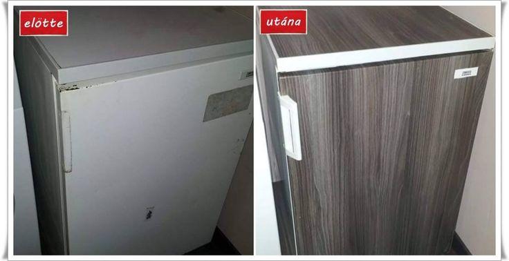 Bútorfelújítás öntapadós fóliával – #2.rész | www.otthon-edes-otthon.hu