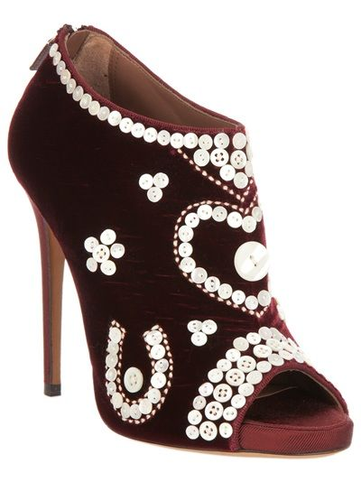 TABITHA SIMMONS 'Kings' Booties - Pearly Queen?!