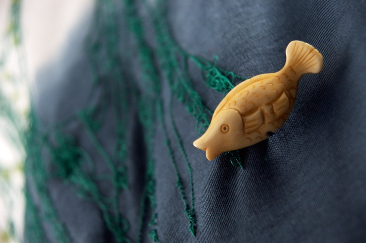 Aquarium t-shirt by Jimi Roos for GALLERIA J