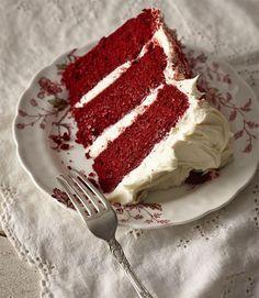 bolo, red velvet, veludo, vermelho, receita