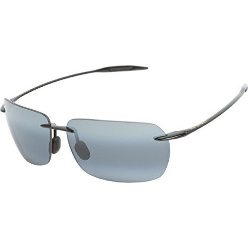 Maui Jim Banzai Polarized Sunglasses (Size:One Size Color:Gloss Black / Neutral Grey) by Maui Jim. Brand new guaranteed 100% authentic Maui Jim sunglasses, never used or worn in original Maui Jim pa. Black Frame. Unique Maui Jim Grey Polarized Lens. Maui Jim Sunglasses are lightweight, comfortable, extremely impact resistant, and feature Clear she. Comes with Brown Maui Jim case, soft cleaning pouch and paper work from the company.