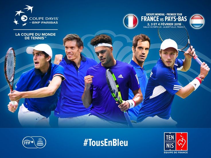 Coupe Davis 2018 - 1er tour