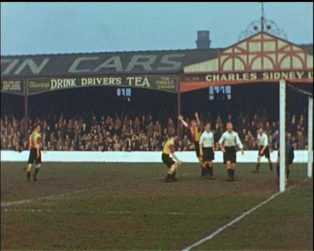 Original Archibald Leitch stand at Bradford City's Valley Parade