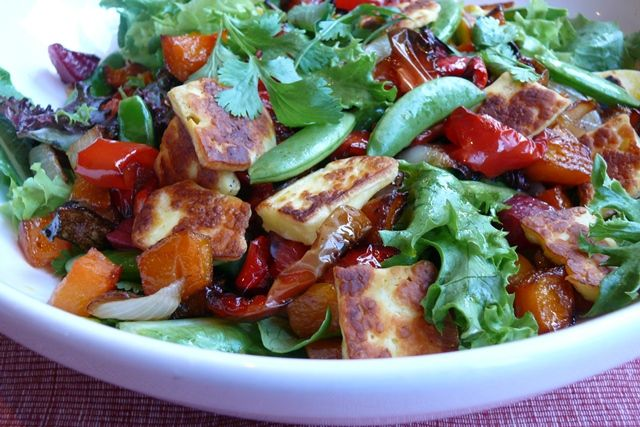 Haloumi cheese - yummy for salads this summer