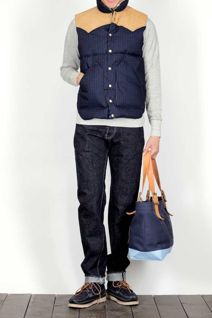Latest Fashion Down Vest With Sweater 47