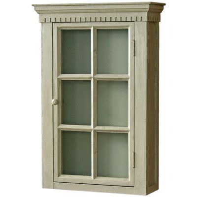vintage boulevard wall mounted display cabinet