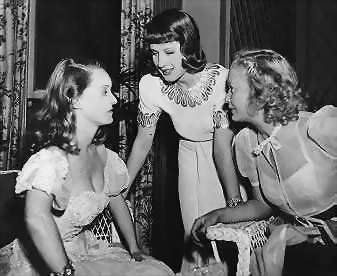 Chatterboxes Bette Davis, Norma Shearer and Miriam Hopkins.