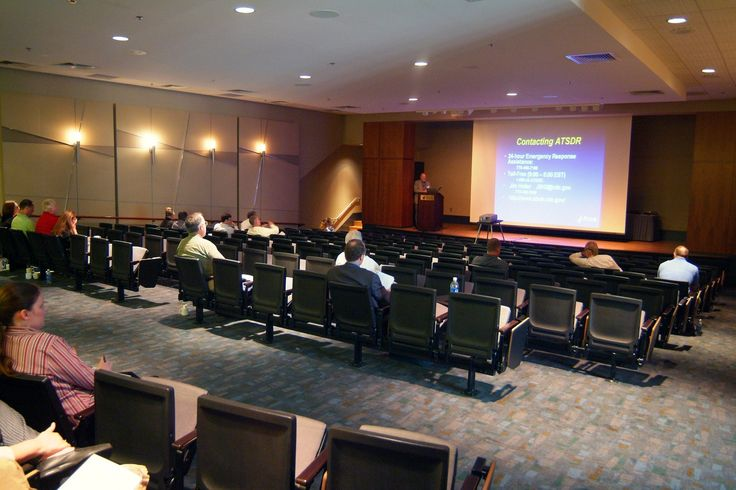 Greater Richmond Convention Center Lecture Hall.