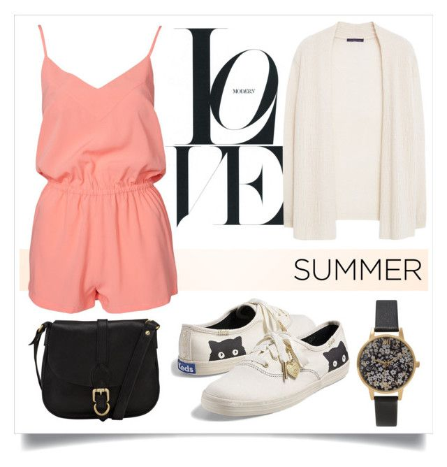 """""""Last Days of Summer"""" by alaria ❤ liked on Polyvore featuring NLY Trend, Keds, Violeta by Mango, John Lewis, Olivia Burton, keds and summerend"""