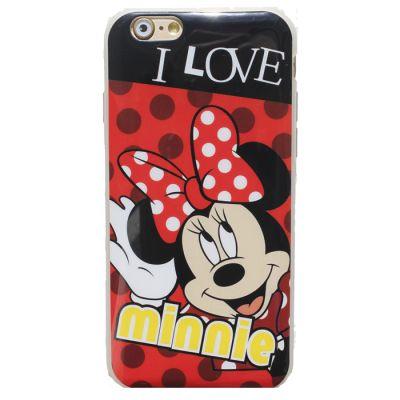 """Купить Резиновый чехол для iphone 6 Disney """"Minnie Mouse"""""""