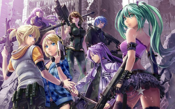 Vocaloid HD Image.