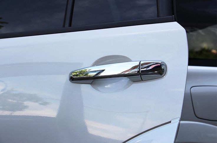 Auto chrome accessories,door handle cover trim  for outlander 2013,ABS chrome,style A free shipping