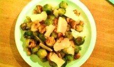 la Vache qui Vit | recept Spruitjes met kastanjes | Vegetarische recepten