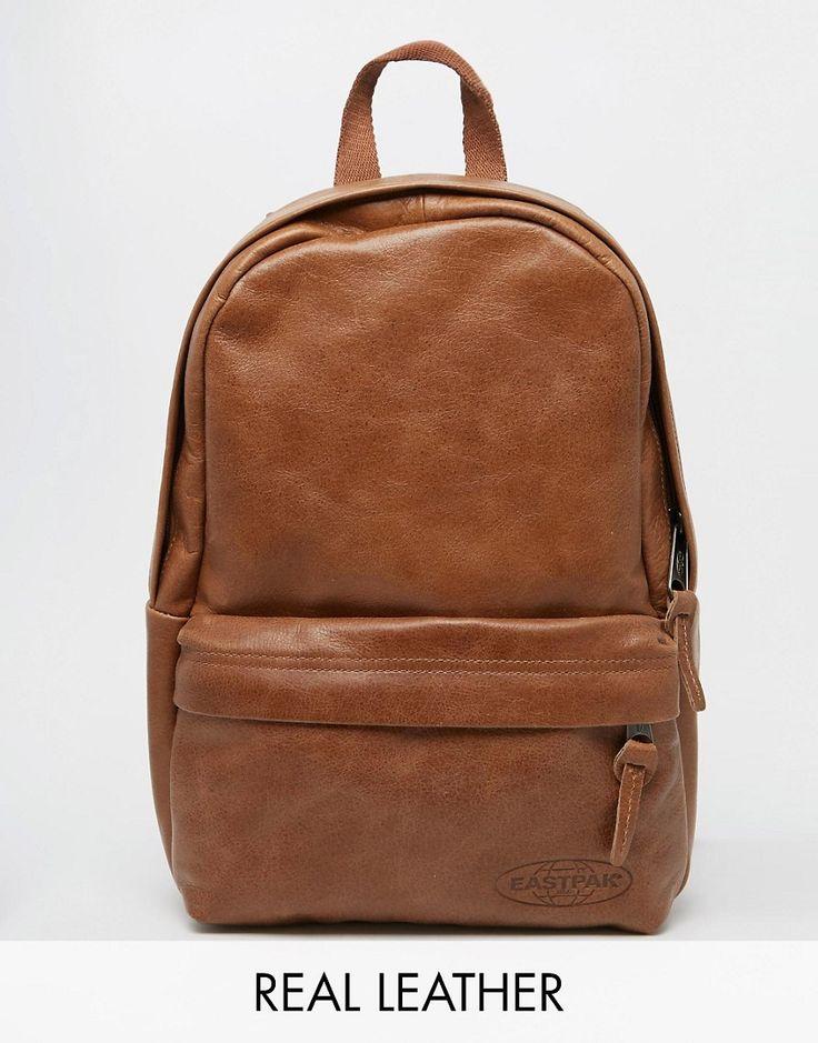 Image 1 - Eastpak - Sac à dos en cuir