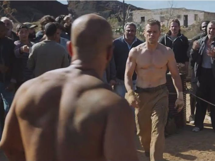Here's the workout Matt Damon used to get in incredible shape for 'Jason Bourne'