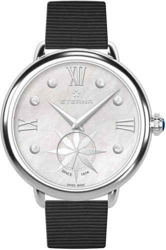 Eterna Watch Lady Eterna Quartz Small Second Pre-Order #add-content #basel-16 #bezel-fixed #bracelet-strap-synthetic #brand-eterna #case-material-steel #case-width-34mm #delivery-timescale-call-us #dial-colour-white #gender-ladies #luxury #movement-quartz-battery #new-product-yes #official-stockist-for-eterna-watches #packaging-eterna-watch-packaging #pre-order #pre-order-date-30-08-2016 #preorder-august #style-dress #subcat-eterna #supplier-model-no-2801-41-66-1408…