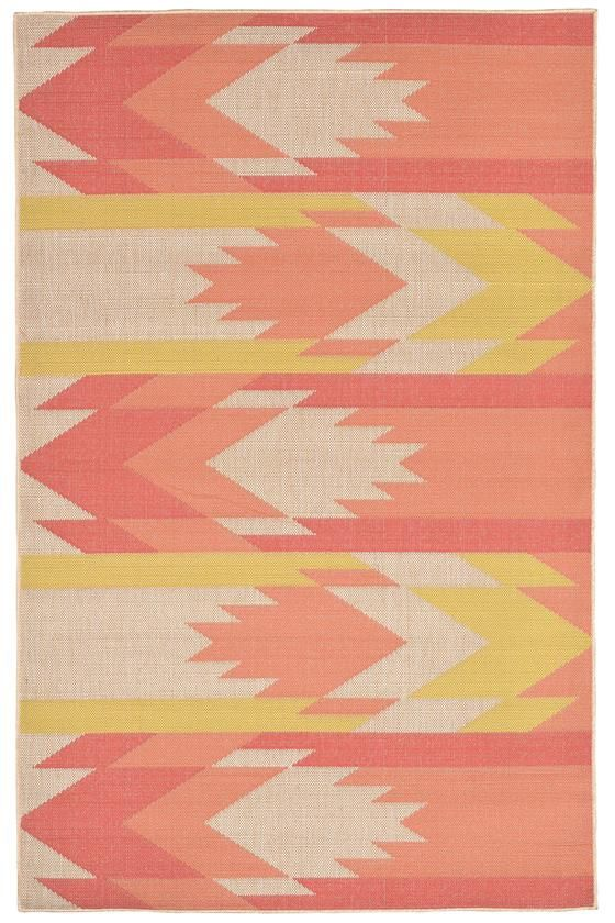 Sierra Area Rug - Synthetic Rugs - Machine-woven Rugs - Patio Rugs - Outdoor Rugs - Contemporary Rugs - Southwestern Rugs - Geometric Rugs | HomeDecorators.com